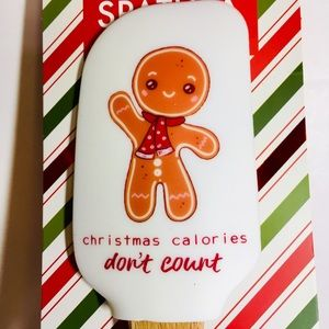 Gingerbread Boy Silicone Spatula + Cookie Cutter